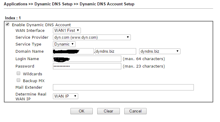 How to resolve dyndns not working on 2860n+ - Powered by