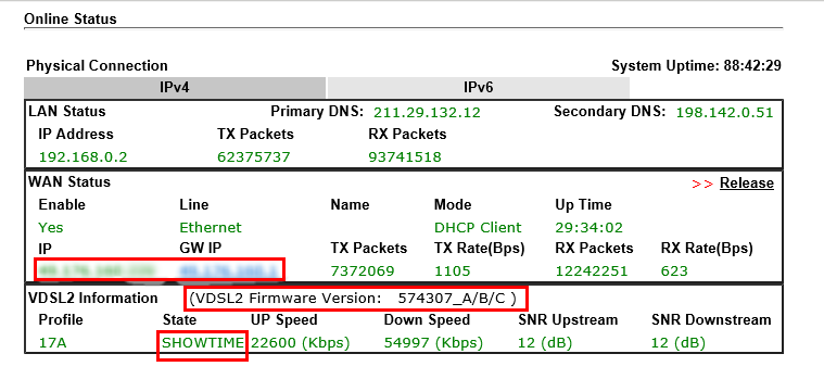 How to Connect DrayTek Vigor130 to VDSL2 connection on NBN network
